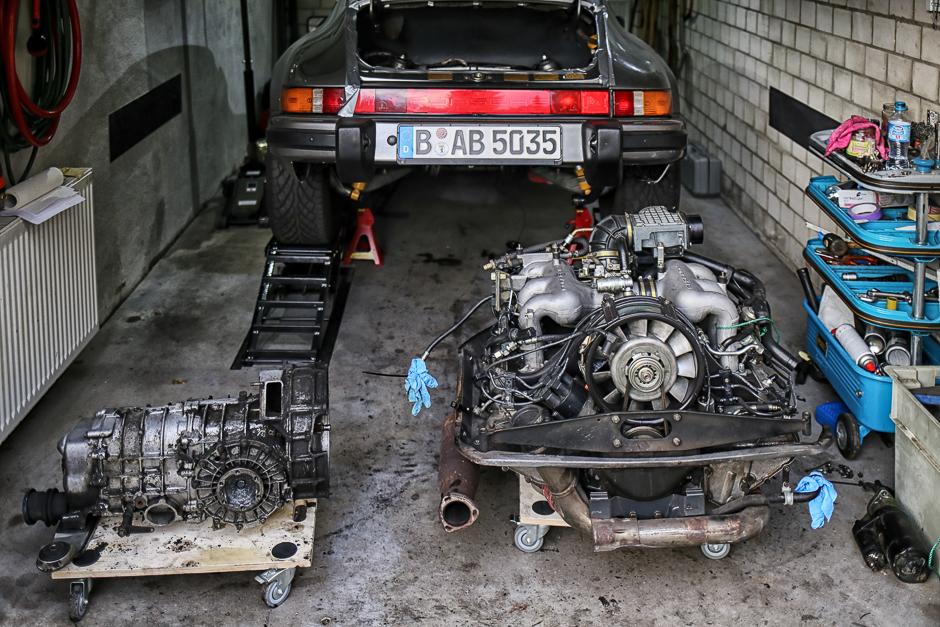 porsche-911-motor-ausbau-g-modell